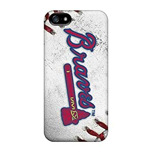 Fashion Protective Atlanta Braves Case Cover For Iphone 5/5s