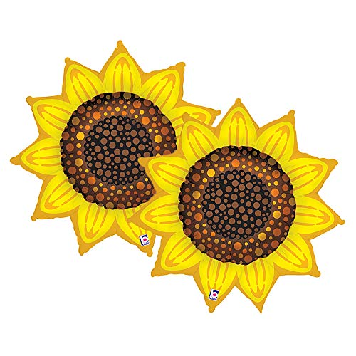 Set of 2 Yellow Sunflower 42