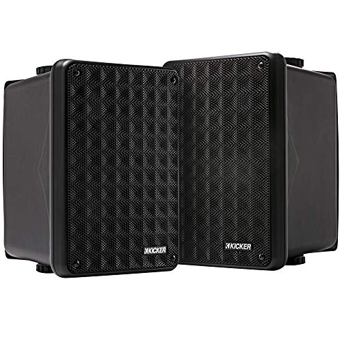 Kicker KB6 2-Way Full Range Indoor Outdoor Speakers (Pair) |