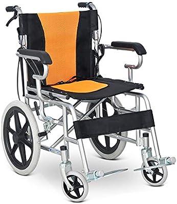 Sillas de ruedas Silla Plegable Manual Transporte Portátil ...