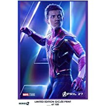 Lost Posters RARE POSTER thick SPIDER-MAN the avengers: infinity war 2018 tom holland REPRINT #'d/100!! 12x18 SERIES TWO