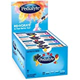 Pedialyte Multi Pack, Electrolyte Hydration Drink, 0.6 oz Electrolyte Powder Packs, 80 Count