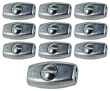 Eider 2 mm Weidezaun Litzenverbinder Ei Plus, 10 Stück, NA: Amazon ...
