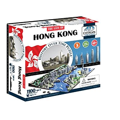 4dcityscape Time Puzzle Hong Kong