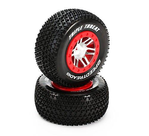 1/8 Foam Tires (Dynamite SpeedTreads Triple Threat SC MNTD)