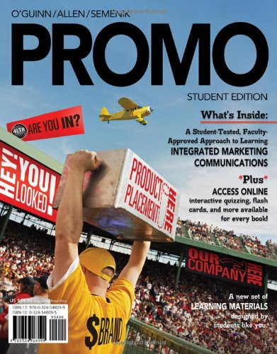 PROMO (with Marketing CourseMate with eBook Printed Access Card) (Available Titles CourseMate) by Cengage Learning