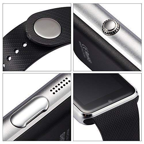 MKYCNC Smart Watch A1 Bluetooth Smartwatch Compatible with All Mobile Phones for Boys and Girls