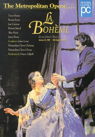 Giacomo Puccini - La Bohème / Franco Zeffirelli ·  James Levine -  T. Stratas ·  R. Scotto ·  J. Carreras ·  MET by Geneon [Pioneer]