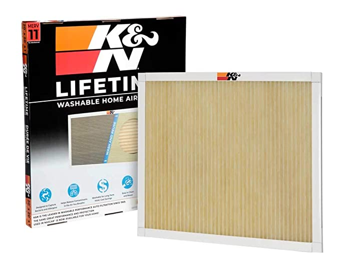 K&N Reusable Furnace Filter