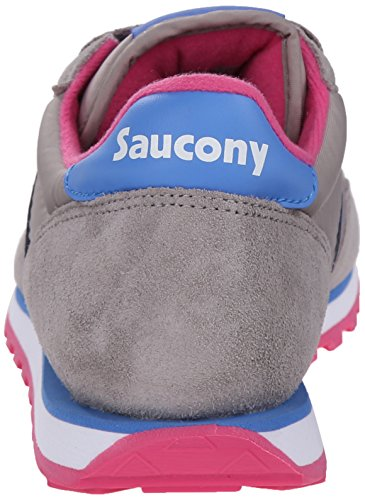 Saucony Originals Damen Jazz Low Pro Sneaker Grau Blau