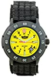 Uzi Men's Uzi-005-N The Protector Tritium H3 Black Nylon Strap Watch, Watch Central