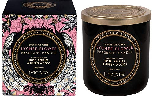 MOR Fragrant Candle, Lychee - Scented Candle Lychee