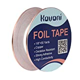 KAVANI Pack of 2 Copper Foil Tape with Conductive Adhesive 1/8inch X 55yards