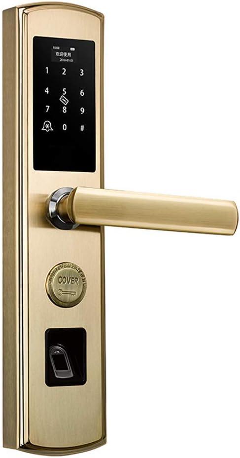 Cerradura puerta con huella dactilar con cerraduras inteligentes ...