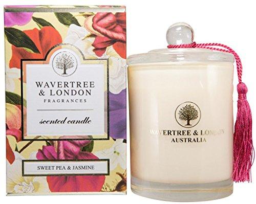 Wavertree & London Soy candle - Sweet Pea & Jasmine by Wavertree and London