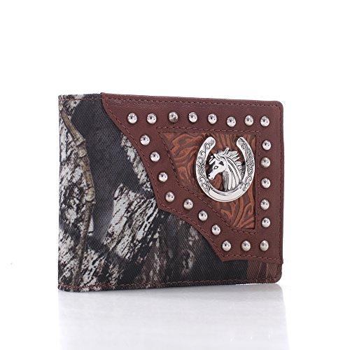Men's Mossy Oak Trifold Wallet Billfold