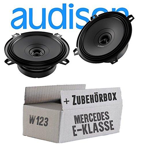 Audison APX 5-13cm 2-Wege Koax Lautsprecher Einbauset f/ür Mercedes W123 Heck JUST SOUND best choice for caraudio