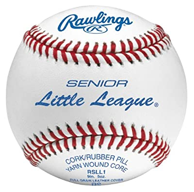 Rawlings Senior Little League Competition Grade Baseballs (One Dozen)