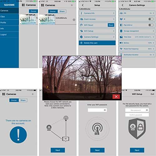 Clock Radio Hidden Camera Night Vision + WiFi Cloud Recording + Live Stream Real Time Video