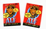Two Packs of Alf Trading Cards Vintage - Red Packaging 2nd Series by ALF