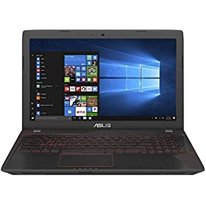 Asus FX553VD-DM1031T 2017 15.6-inch Laptop (7th Gen Core i5/8GB/1TB/Windows 10 – 64bit/2GB Graphics), Black