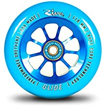 River Glide Wheel 110mm Blue (Pair)
