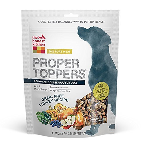 The Honest Kitchen, Proper Toppers Grain-Free Turkey Dog Food 5.5oz Pouch by Honest Kitchen