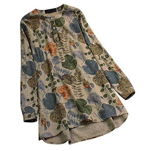 Womens O-Neck Print T-Shirt,Long Sleeve Casual Ladies Tops Plus Size Blouse, Sunsee Teen 2019 New Year - Top Boatneck Print