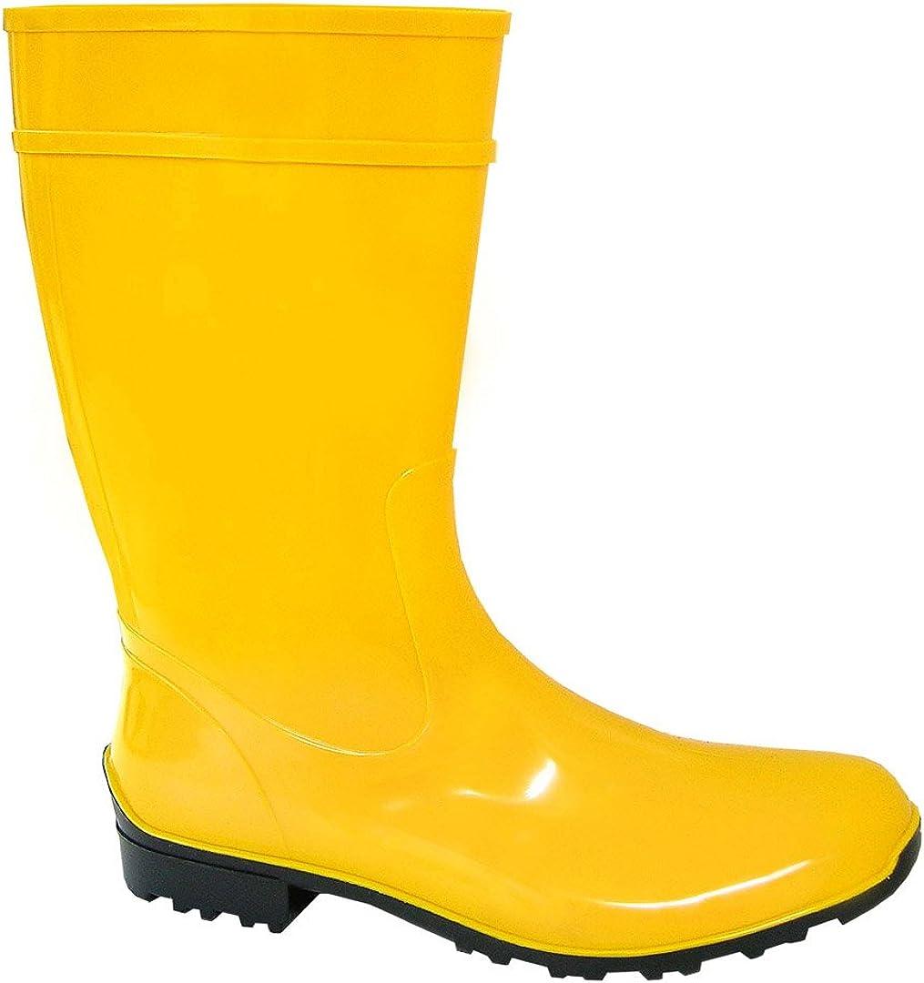 Lemigo Ladies, Yellow, PVC, Wellies