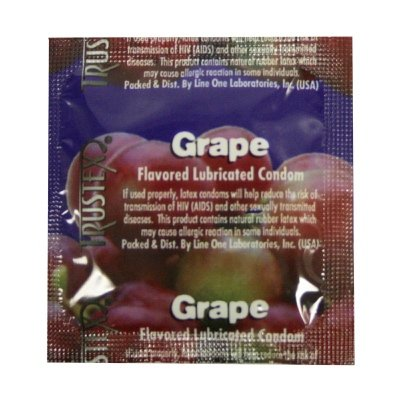 Trustex Grape Flavor Lubricated: 36-Pack of - Flavors Trustex