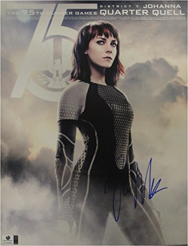 (Jena Malone Hand Signed Autographed 11x14 Photo Hunger Games GA 769645)
