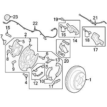 Amazon Com Ford Oem Brake Hydraulic Hose Fl3z2282b Image 21 Automotive