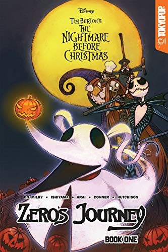 Disney Manga: Tim Burton's The Nightmare Before Christmas - Zero's Journey by Tokyopop