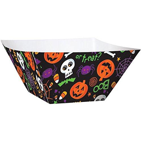 Spooktacular Halloween Party Snack Bowl Tableware, Paper, 2