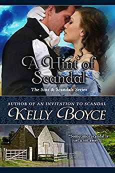 A Hint of Scandal (The Sins & Scandals Series Book 9) by [Boyce, Kelly]