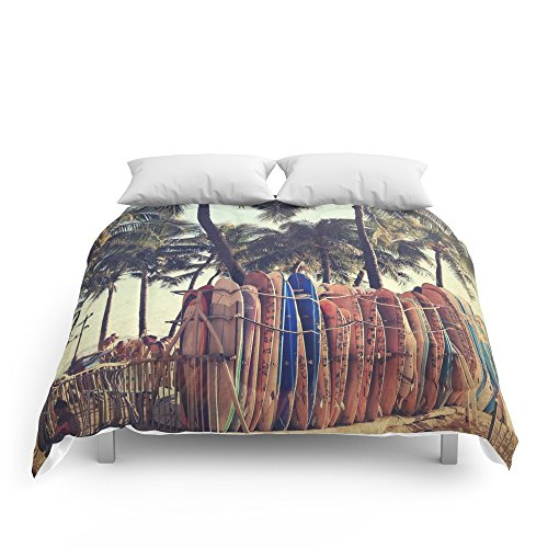 Society6 Classic Hawaii Comforters Queen: 88'' x 88'' by Society6