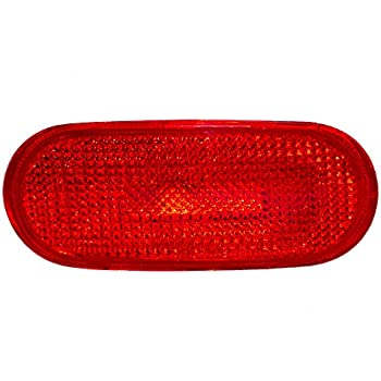 Drivers Rear Side Marker Light Lamp Replacement for VW Volkswagen 1C0945073B AutoAndArt