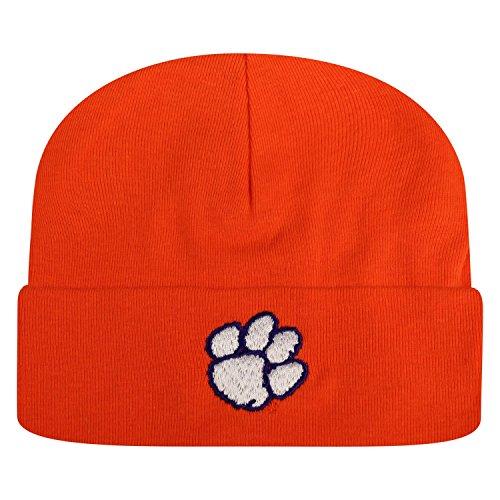 Clemson Tigers Bowl Game - Clemson Tigers Newborn Baby Cuff Beanie Hat - NCAA Infant Winter Knit Cap
