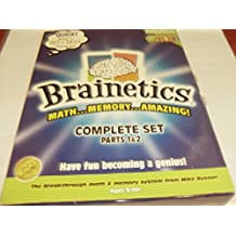 Brainetics Math & Memory System by Mike Byster Complete Set Parts 1 & 2 by Brainetics