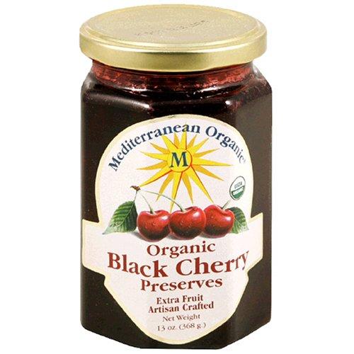Mediterranean Organic Black Cherry Preserve, 13 Ounce -- 12 per case.