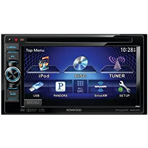 Kenwood DNX570HD Touchscreen In-Dash 2-DIN Multimedia DVD Receiver with Navigation/Bluetooth/HD Radio