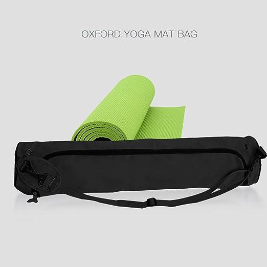 Lixada Yoga Storage Bag Oxford Yoga Bag Yoga Mat Bag Gym Mat Bag Pilates  Mat Case Bag Carriers  Amazon.co.uk  Sports   Outdoors 713bb9005a842