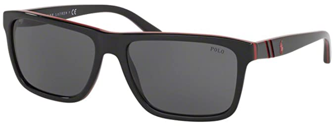 Ralph Lauren POLO 0PH4153 Gafas de sol, Red/Black, 58 para ...