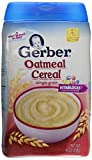 Gerber Baby Cereal, Oatmeal, 16 Ounce