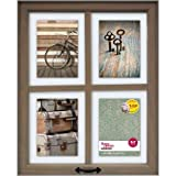Cheap Better Homes and Gardens 4-Opening Rustic Windowpane Collage Frame