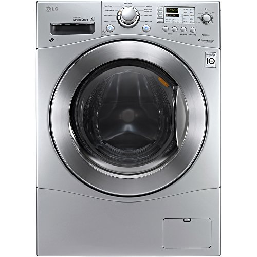 """LG WM3477HS 2.3 cu. ft. Large Capacity 24"""" Compact All-In-One Washer/Dryer Combo with 9 Wash and 4 Dry Programs"""