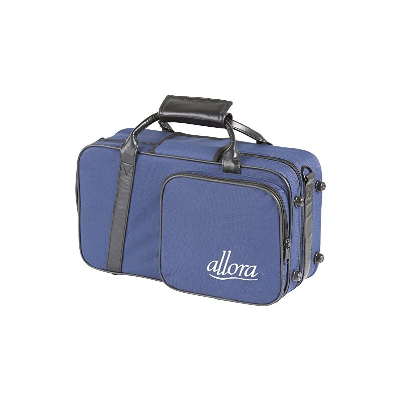 Allora Clarinet Case Blue, with Exterior