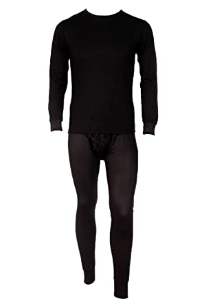 Men's Two Piece Long Johns Thermal Underwear Set at Amazon Men's ...