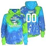 JANT girl Custom Ice Hockey Tie Dye Sweatshirt