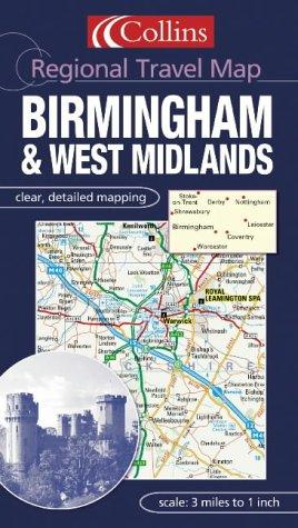 Birmingham and the West Midlands (Regional Travel Map)